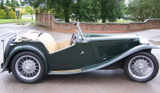 Green MG TC